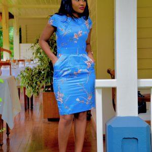 FLORAL TULIP DRESS